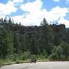 Jemez Mountains just North of Jemez Springs