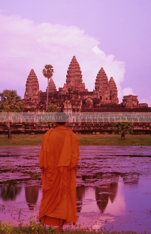 Angkor Wat near sunset