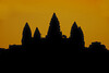 Angkor Wat, Silhouette