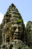One of the face towers at Bayon Temple, circa 1300.
