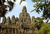 Bayon Temple, Angkor, Cambodia.  Circa 1300.