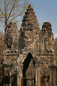 Outer walls and entrance of the Angkor Thom Complex