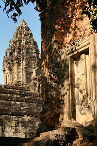 Area near Angkor Wat Temple and Complex