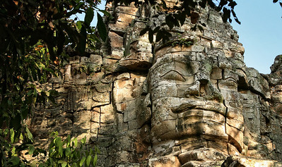 Outer walls of the Angkor Thom Complex