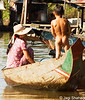 Mother & son at Tonle Sap