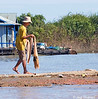 Young Fisherman at Tonle Sap