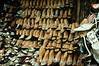 Ladies Shoe Shop in central market in Siem Reap