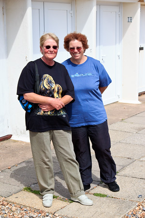 Yvonne & Jean, Angmering on Sea