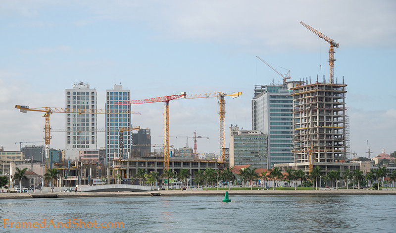 <strong><center>The City of Cranes</center></strong> They are everywhere, changing the skyline in this ever-changing city, some buildings are growing fast, while others have been stuck at a point where the money ran out ~ years ago ....