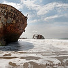 <strong><Center> Karl Marx<br> <strong><Center>The most famous ship on shipwreck beach is Karl Marx,  the naming of which harks back to the Angolan socialist marxist period in the 70's and early 80's