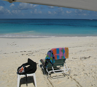 another view of my office, Shoal Bay Beach, Anguilla