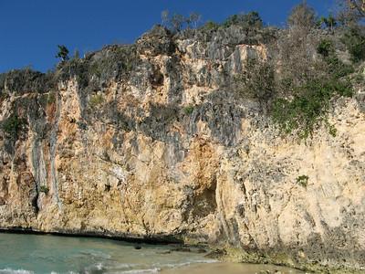 Little Bay rock wall