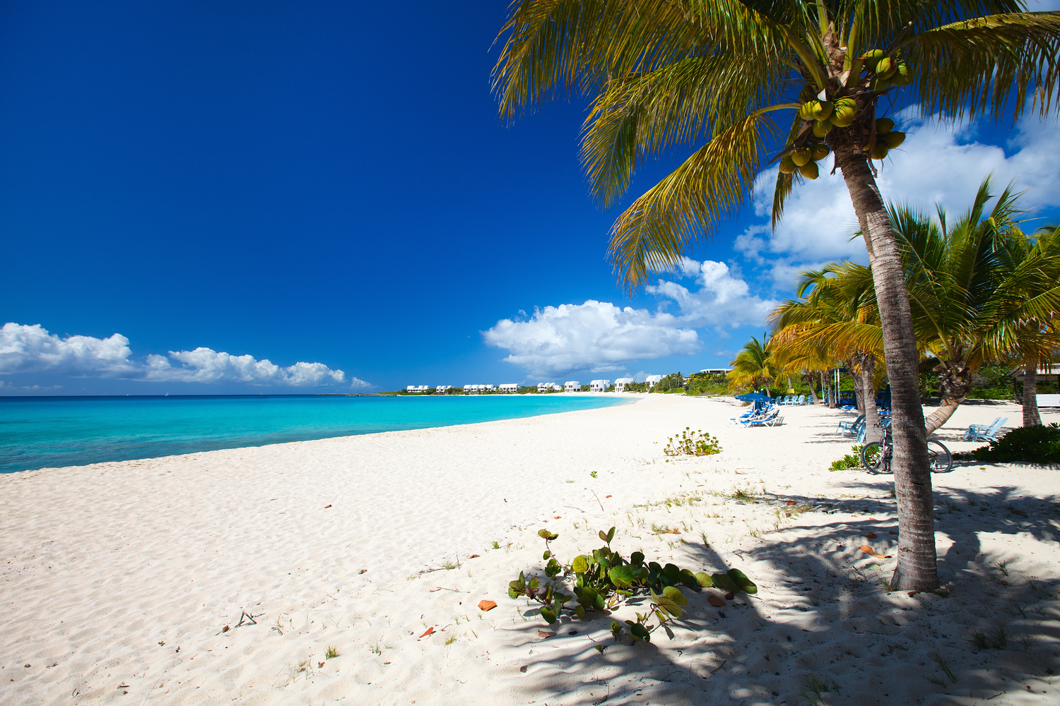 One of the beach beaches in Anguilla