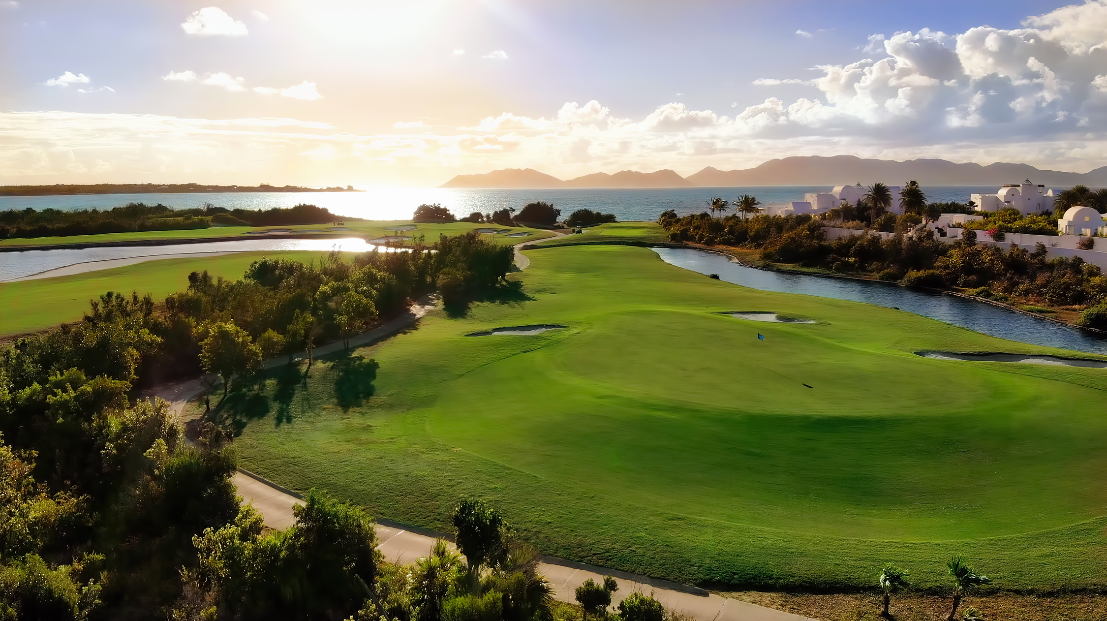 CuisinART golf course in Anguilla, Caribbean.