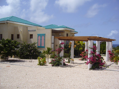 uncle rob and aunt diane's house in anguilla... not bad!