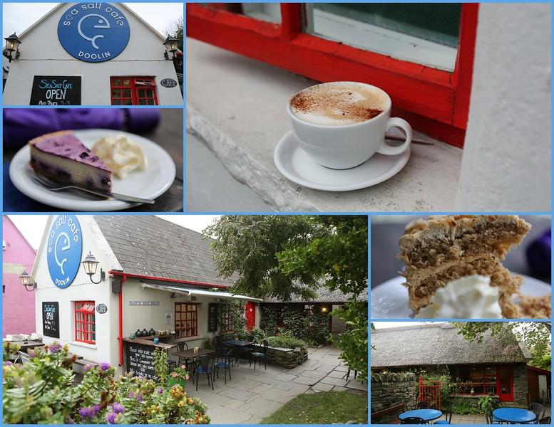 A fine place for lunch & coffee & dessert - Sea Salt Cafe, Doolin