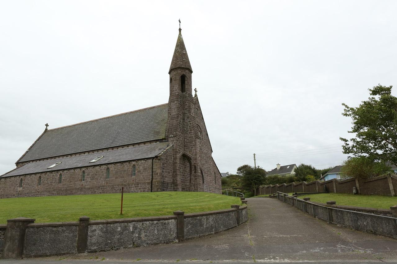 The church in Lipole along N26