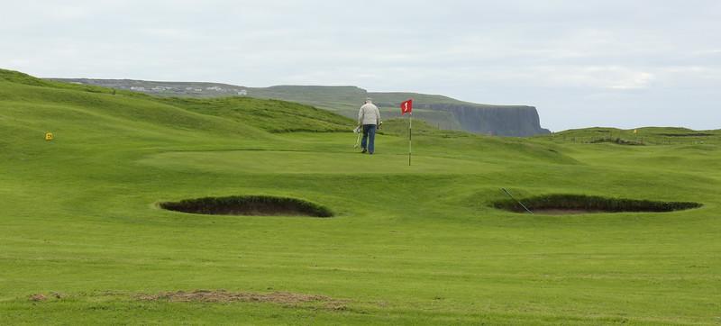 Golf is popular in Ireland