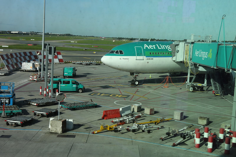 Aer Lingus ready to provide a safe trip across the pond.
