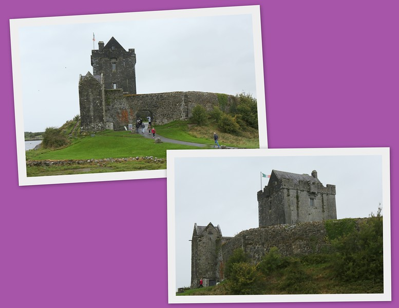 """The Ballyvaugh Castle along the way - we are headed to a cozier """"castle"""" for our last night's sleep in Ireland"""
