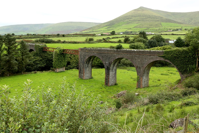 Lispole Viaduct - part of the Dingle-Tralee Railway Line
