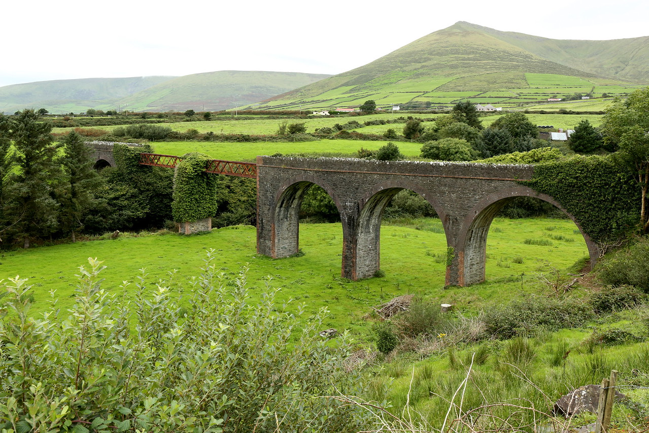 Lispole Viaduct - part of the Dingle-Tralee Railway Line