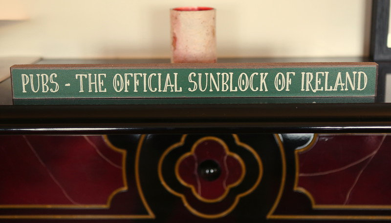 Irish humor - Pubs- The Official Sunblock of Ireland