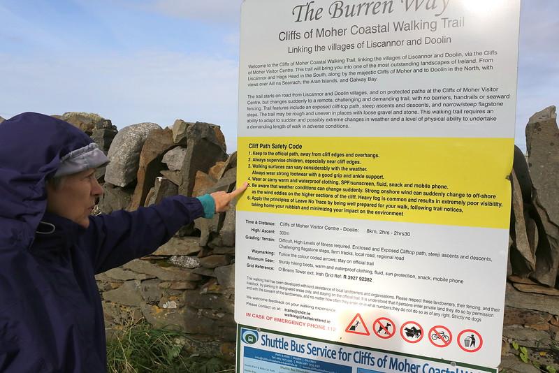 The Burren Way- Cliffs of Moher Coastal Walking