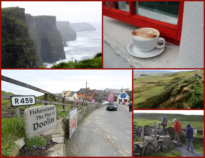 Day 7- Tuesday, Sept 20th, 2016 The walking journey to the Cliffs of Moher