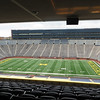 We got to see the recently added premium seating areas on the eastern side of the stadium.