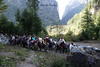 12 riders narrow valley