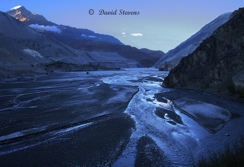 51 Kali Gandaki River evening
