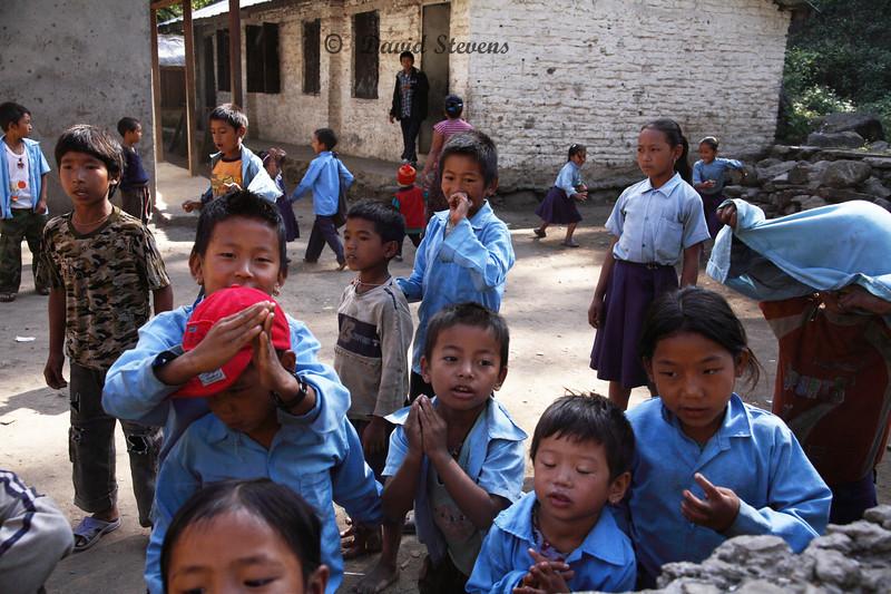 11 School kids
