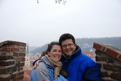 Anna and Tony in Prague