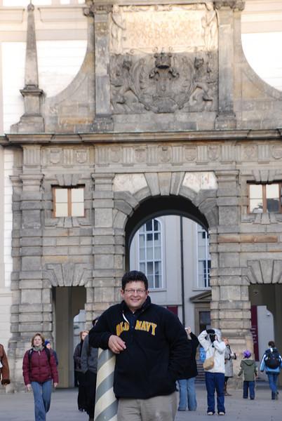 Tony at Prague Castle 3