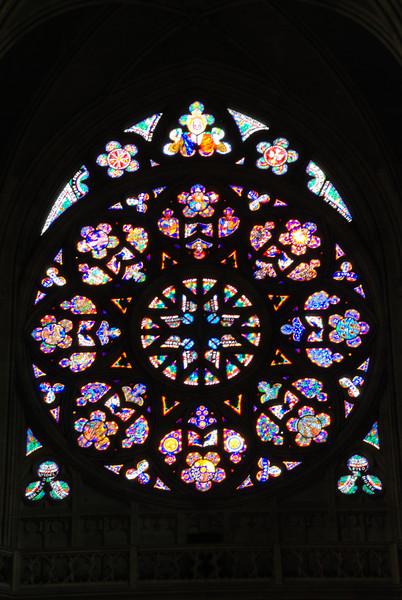 Inside Prague Castle Cathedral 7