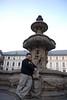 Tony and Prague Castle Fountain 4
