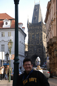 Tony By a Prague Tower 3
