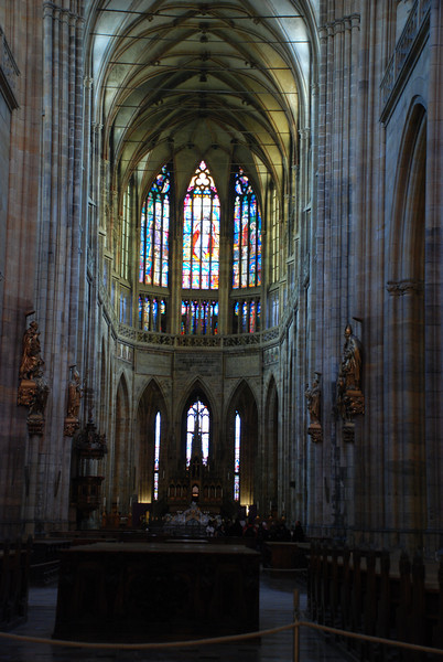 Prague Castle Cathedral 3