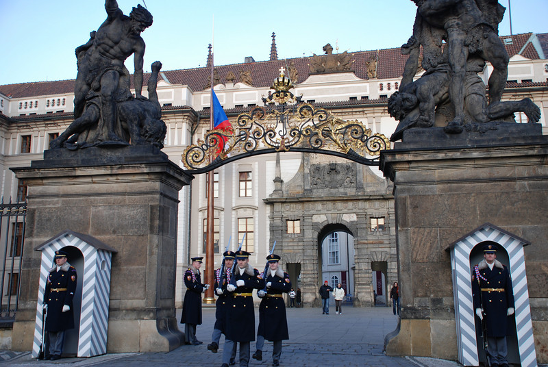 Changing of the Guards Prague 9