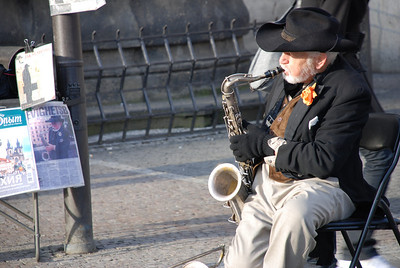 Great Old Town Prague Musician 4