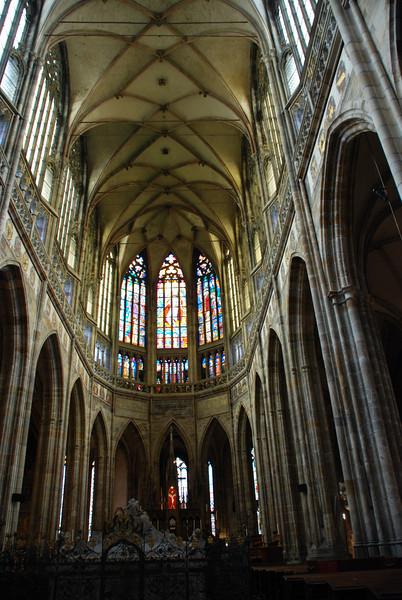 Inside Prague Castle Cathedral 3