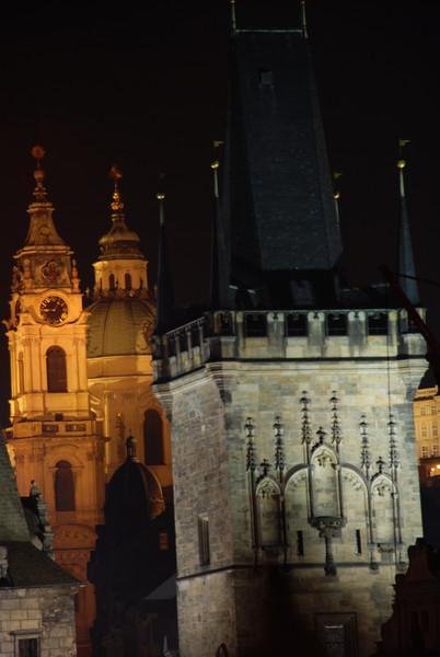 Prague Towers at Night 1