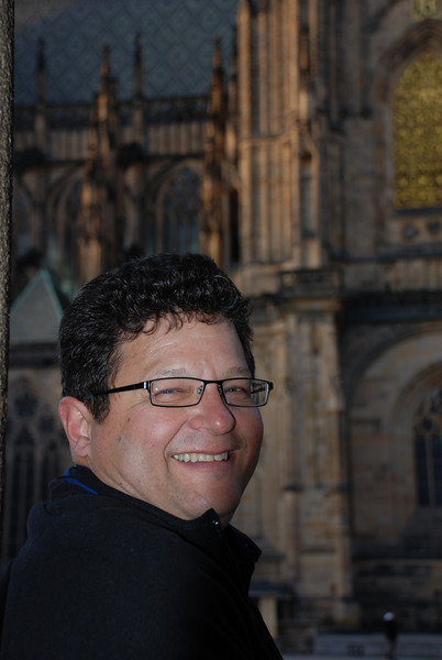 Tony and Prague Castle Cathedral 7