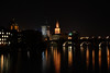 Prague Night Scene Near Water 17