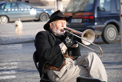 Great Old Town Prague Musician 8