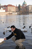 Tony and Prague Swans 2
