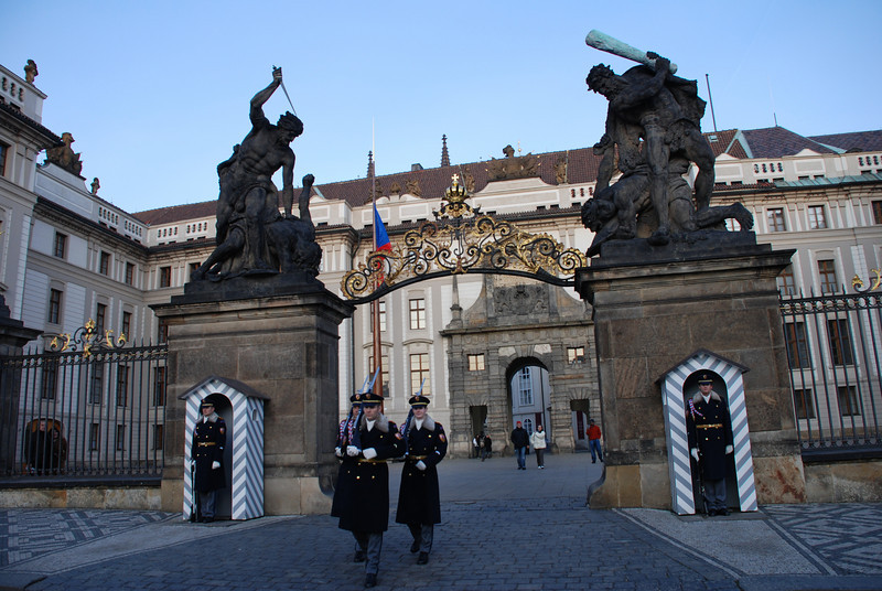 Changing of the Guards Prague 10