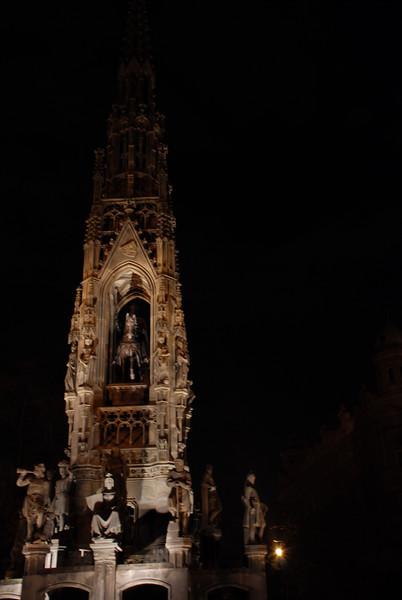 Pretty Monument in Prague 2