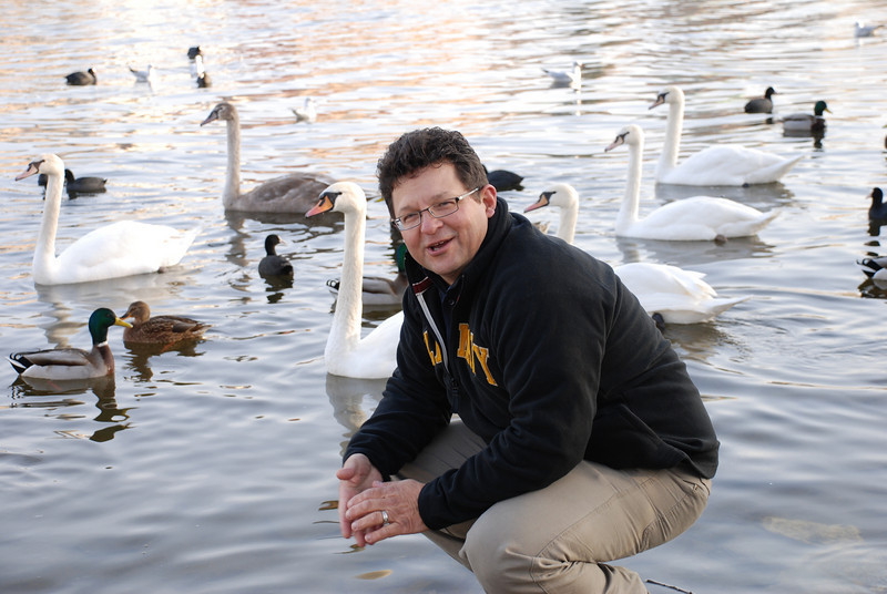 Tony and Prague Swans 6
